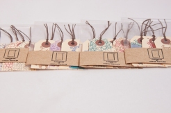 Hand drawn gift tag sets.