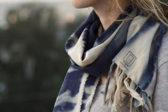Shibori scarf. Photographer Roberto Becerra https://iobridger.wordpress.com/